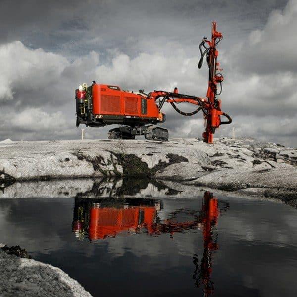 Sandvik Ranger DX800 Drill rig – Aggregate Equipment