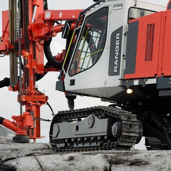 Sandvik Ranger DX600 Drill rig – Aggregate Equipment
