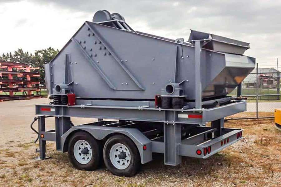 Superior Dewatering Screen Aggregate Equipment