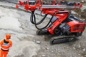 Sandvik Ranger DX700 Drill rig – Aggregate Equipment