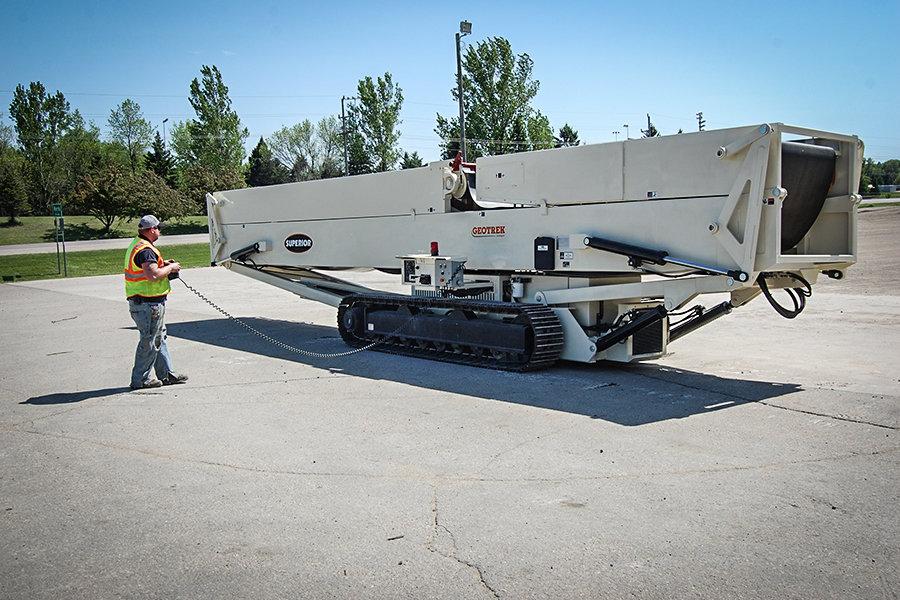 Superior Geotrek 174 Conveyor Aggregate Equipment