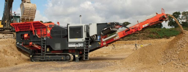 Sandvik QJ341 Mobile jaw crusher – Aggregate Equipment