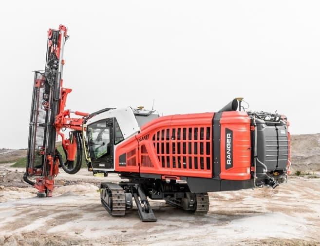 Sandvik DX900i Drill Rig – Aggregate Equipment