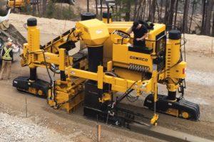 Gomaco Gt 3600 Slipform Paver Aggregate Equipment